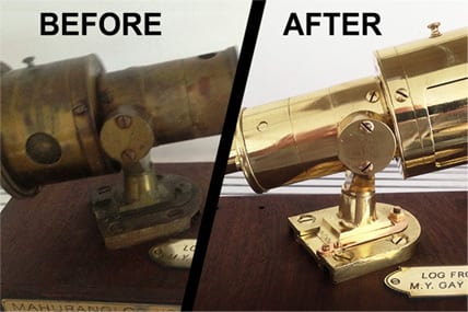 Brass electroplating